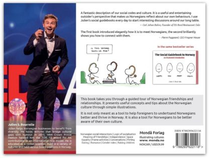 The Social Guidebook to Norway - Frienships and Relationships | Backcover